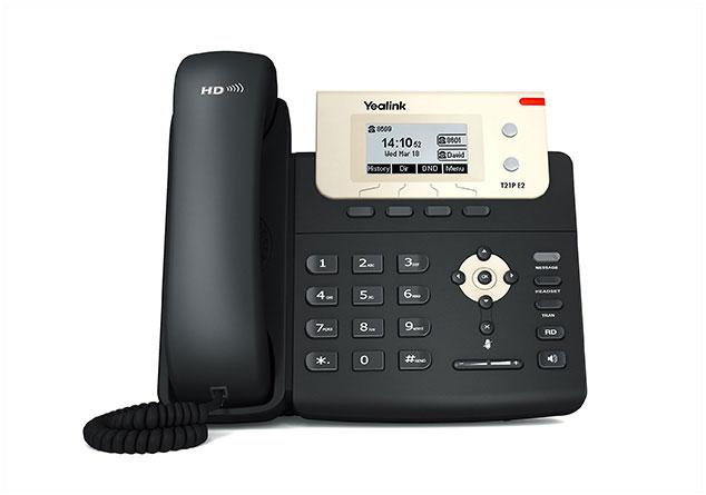 טלפון ip yealink  T21P
