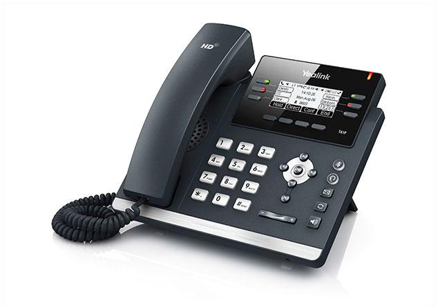 טלפון ip yealink T41P