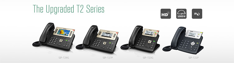 T2 Series Desktop IP Phone