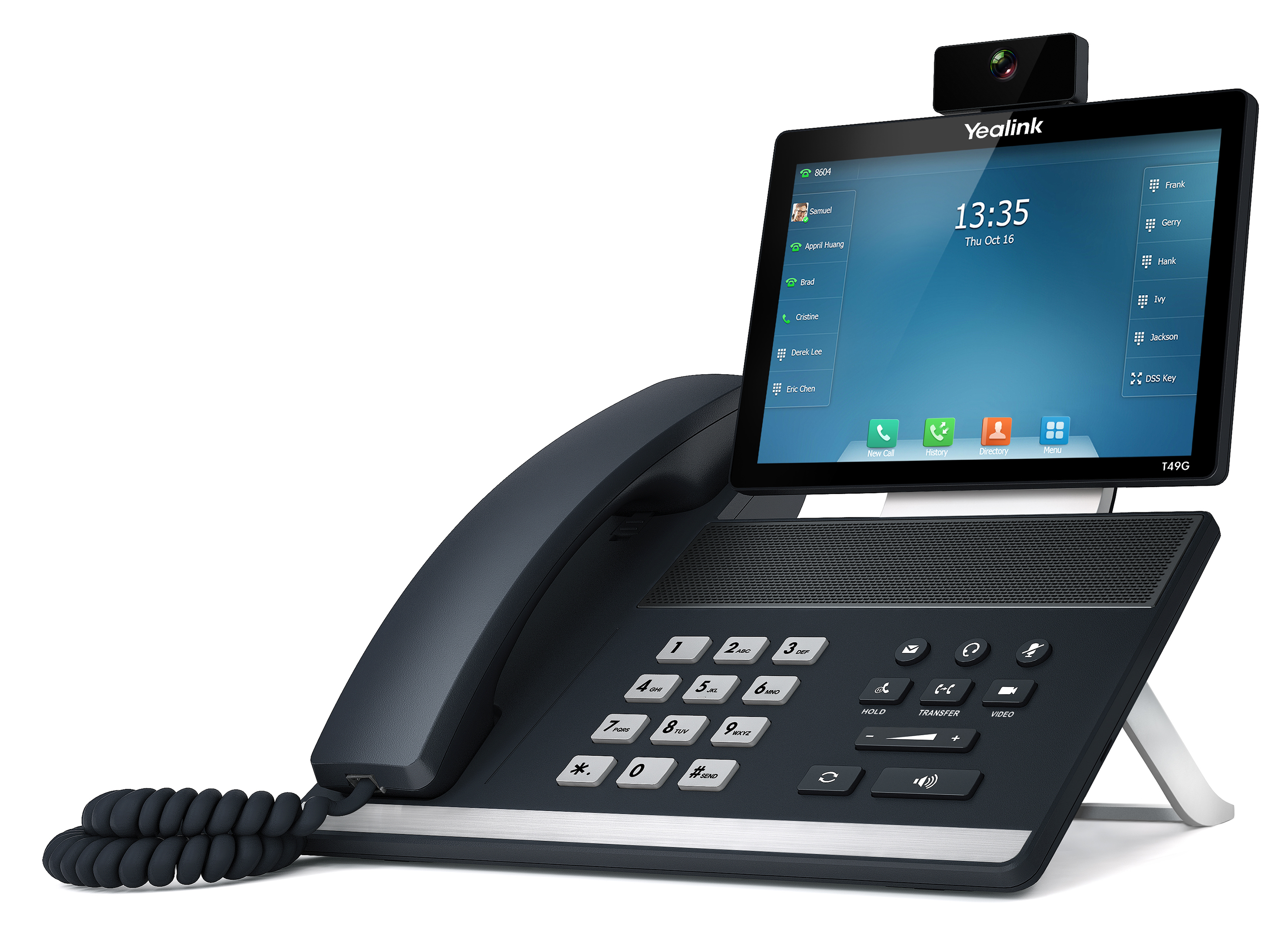 T49 yealink טלפון יאלינק רשת חינם עסק