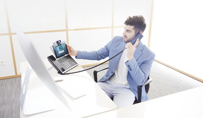 T58V טלפון IP מתקדם לעסקים יאלינק ילינק YEALINK ישראל