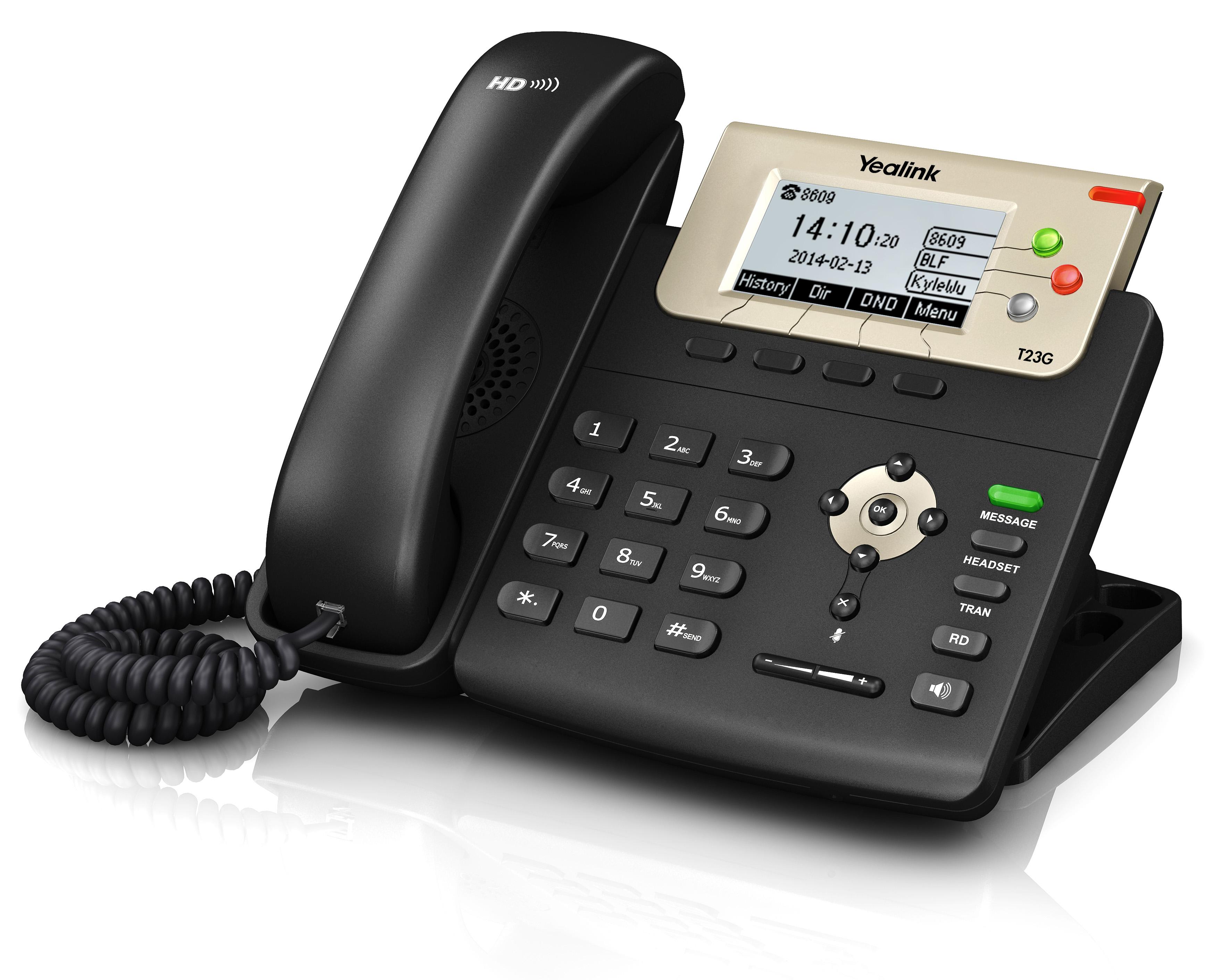 T23G טלפוני אייפי איכותיים במבצע טלפונים לעסקים