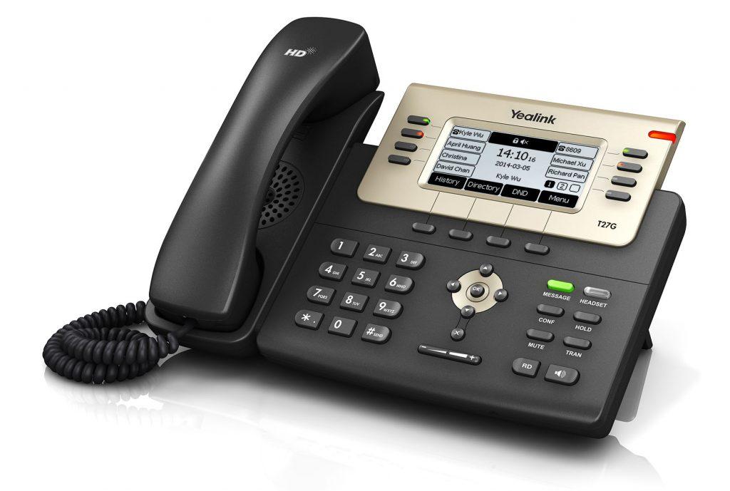 T27G טלפוני IP ארגוקום ילינק יאלינק