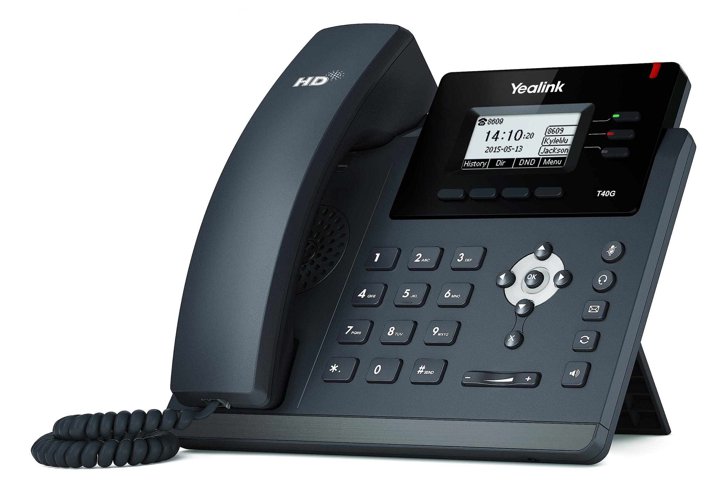 T40G טלפון IP יאלינק רשת