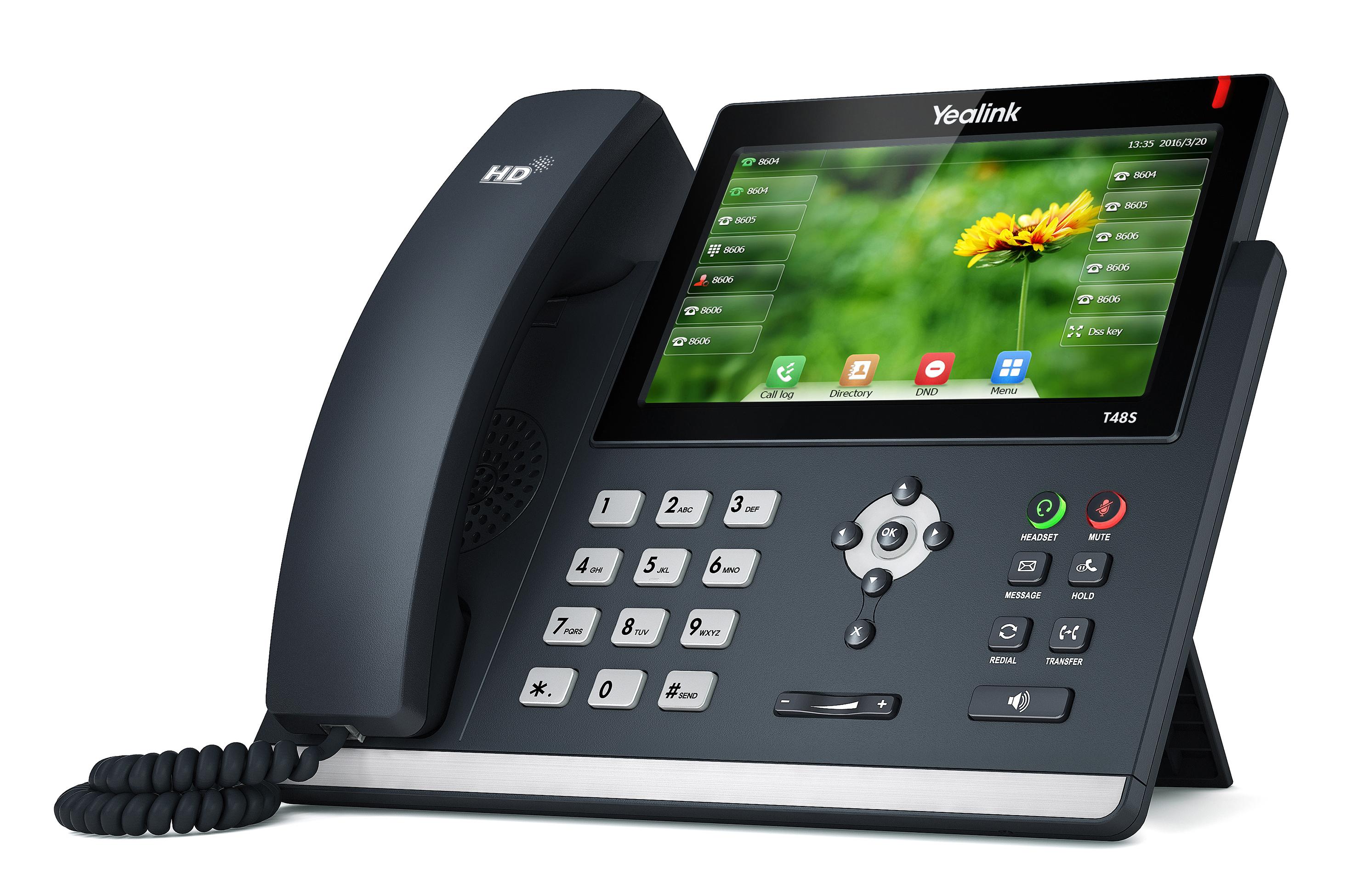 T48S טלפון IP לעסקים yealink ילינק