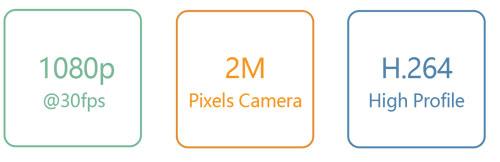 VP59-Videophone 2m Pixel Camera H.264